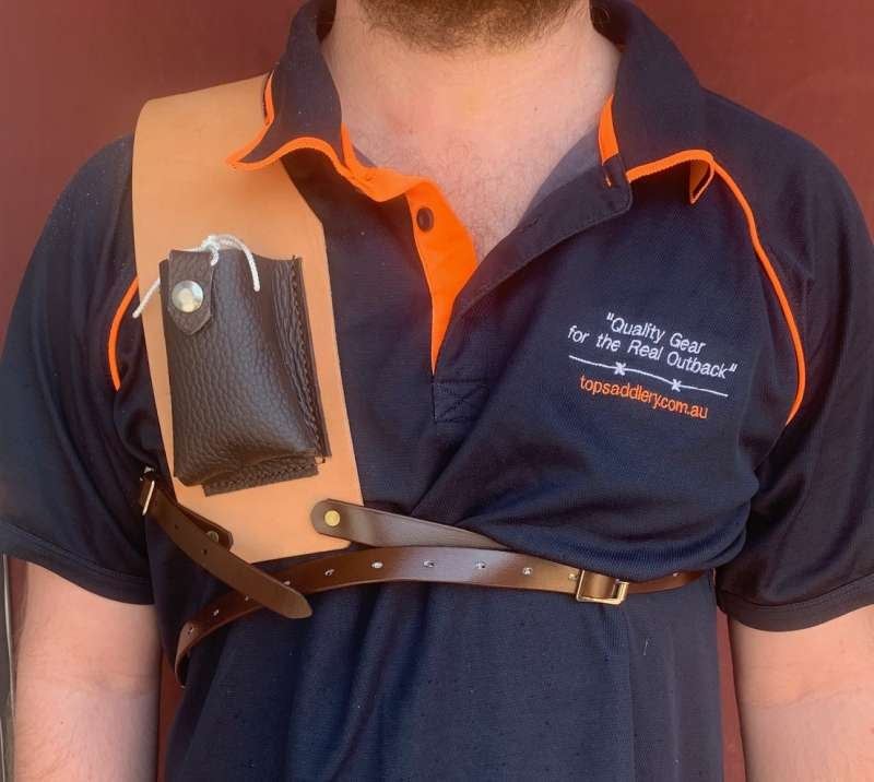 TTS RADIO SHOULDER HARNESS FRONT