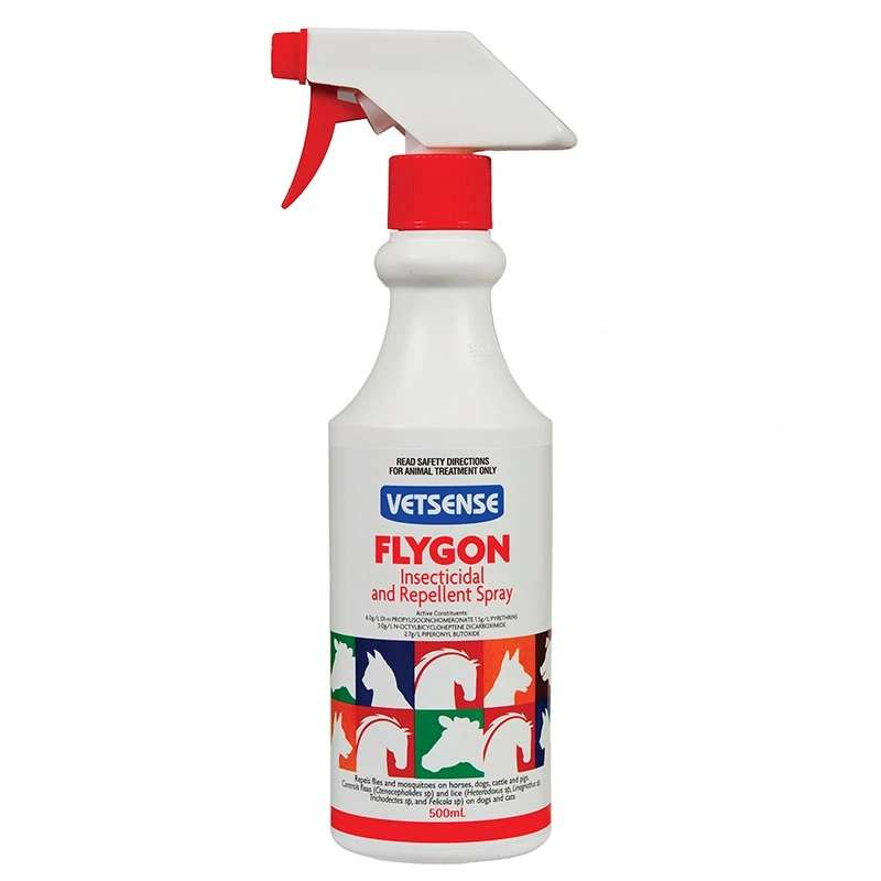 VETSENSE FLYGON SPRAY 500ML PUMP