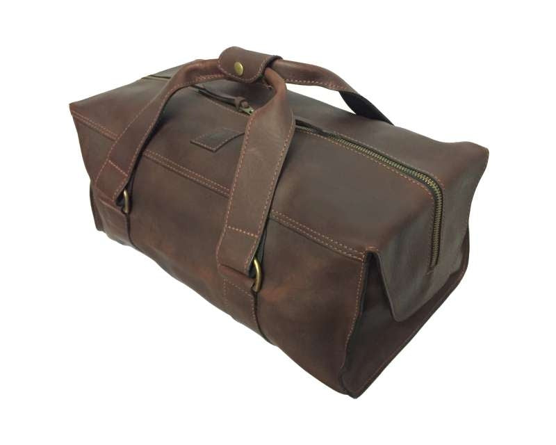 WEEKENDER LEATHER GEAR BAG