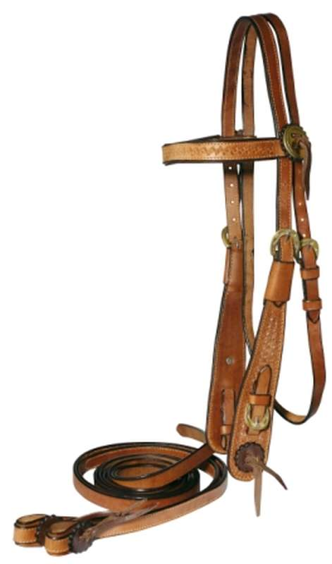 FORT WORTH CLASSIC WESTERN WORK BRIDLE WITH REINS