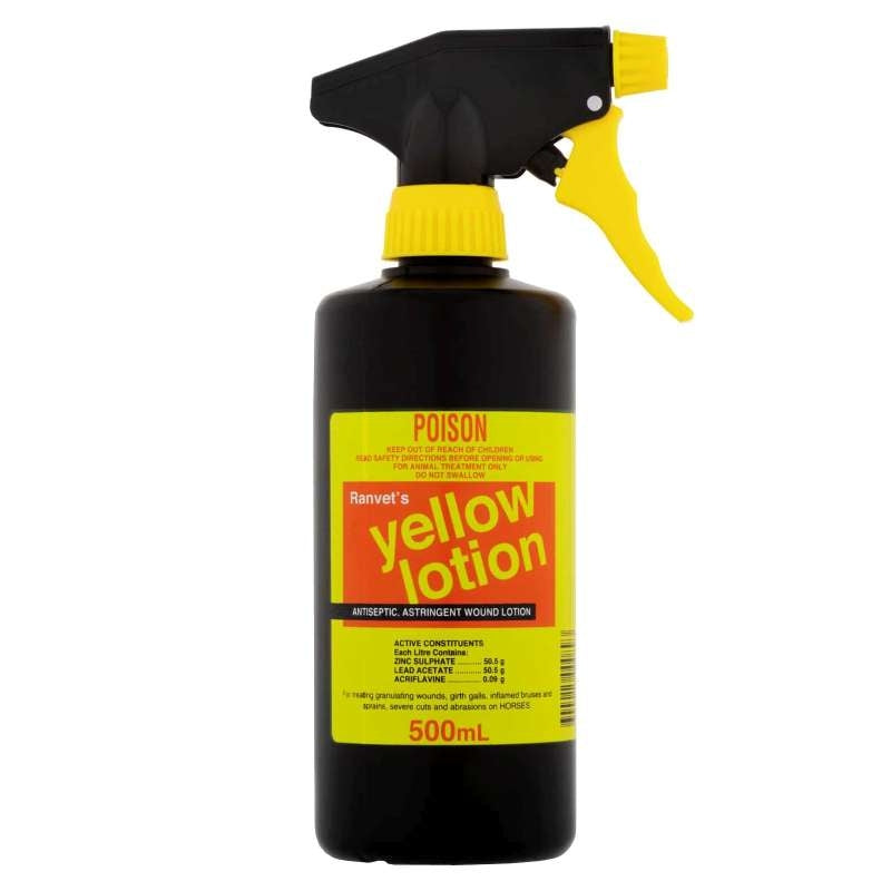 Ranvet Yellow Lotion Wound Spray 500mL