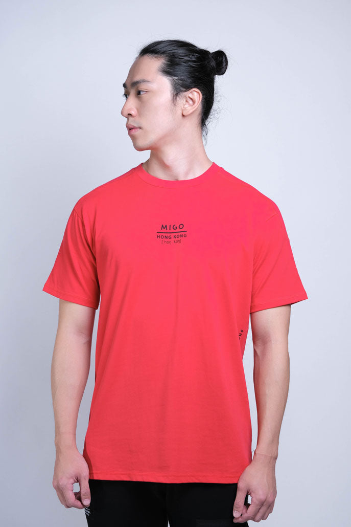 Basic SS Tee (Red) - MIGO