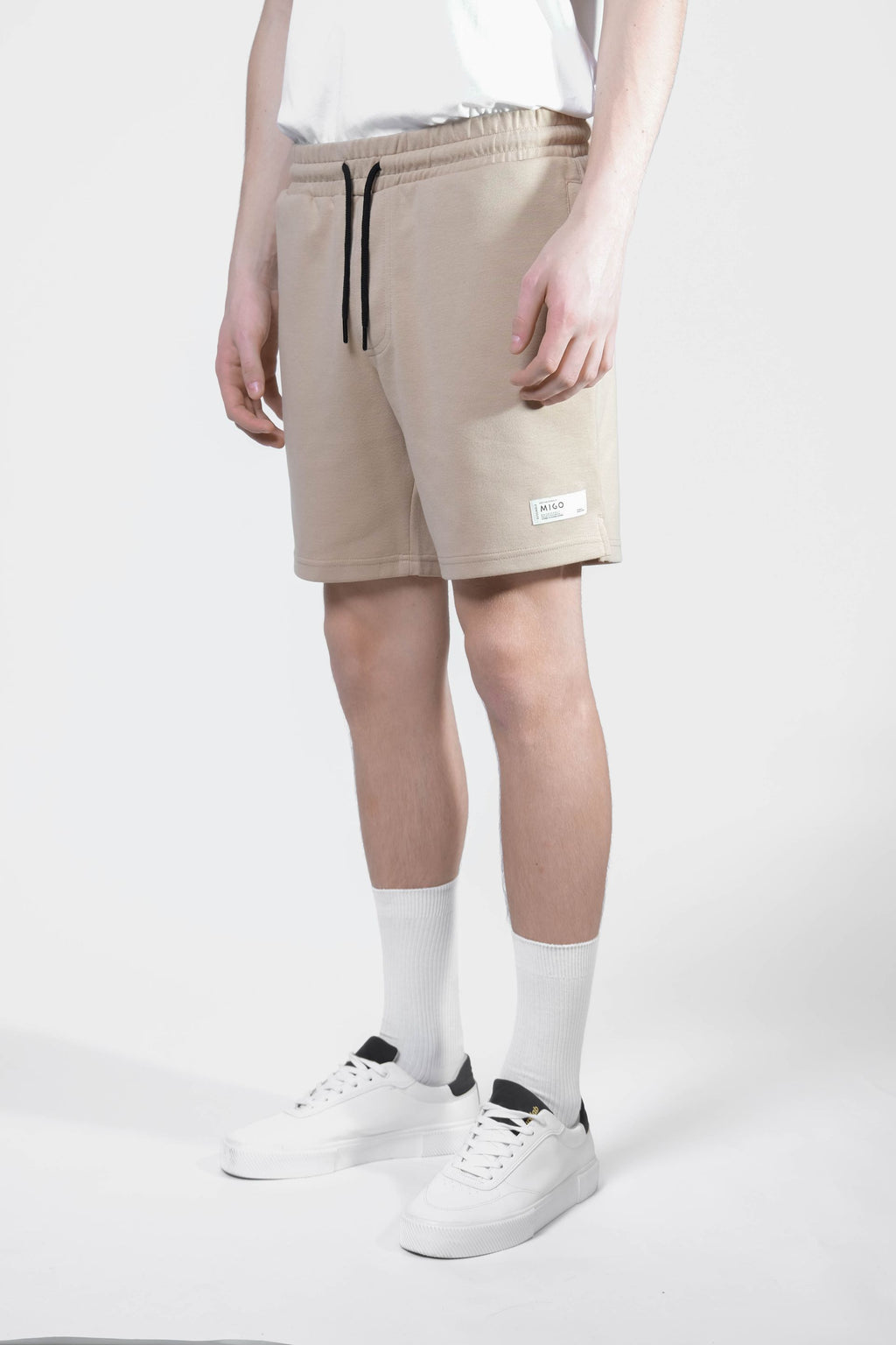 Interlock Jogger Shorts (Pepper) - [MIGO Menswear]