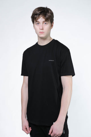 Basic SS Tee 200 (Black) - [MIGO Menswear]