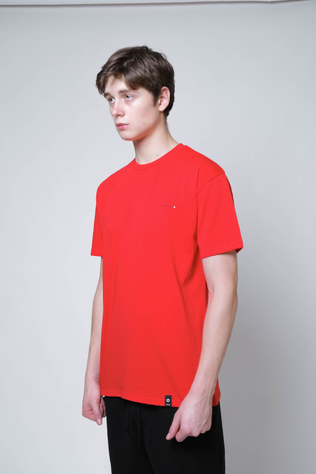 Basic SS Tee 200 (Red) - MIGO