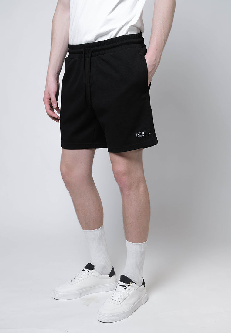 Interlock Jogger Shorts (Black) - [MIGO Menswear]