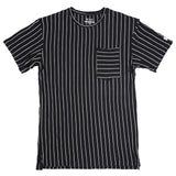 Stripe Pocket Tee - [MIGO Menswear]