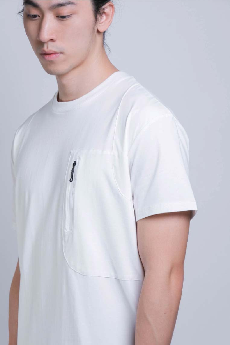 Tagging Pocket Tee (Offwhite) - MIGO