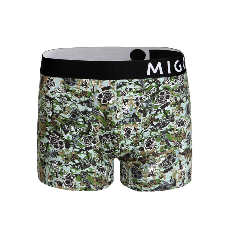 Cotton Pattern Trunk (MysteryMask Grey) - MIGO