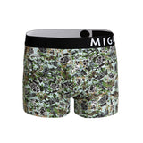 Cotton Pattern Trunk (MysteryMask Grey) - [MIGO Menswear]