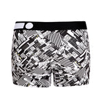 Cotton Pattern Trunk (Home Black) - [MIGO Menswear]