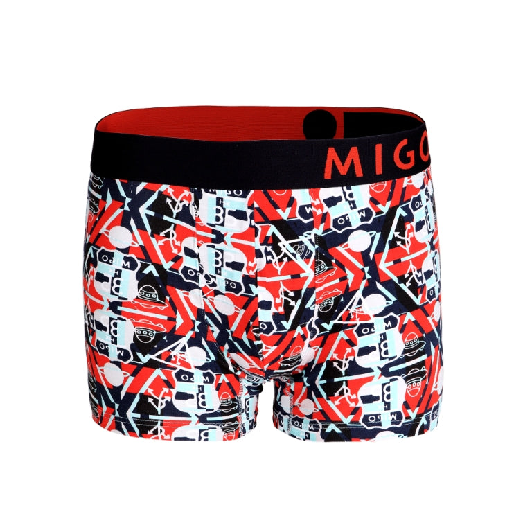 Cotton Pattern Trunk (UFO Signs Navy) - MIGO