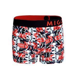 Cotton Pattern Trunk (UFO Signs Navy) - [MIGO Menswear]