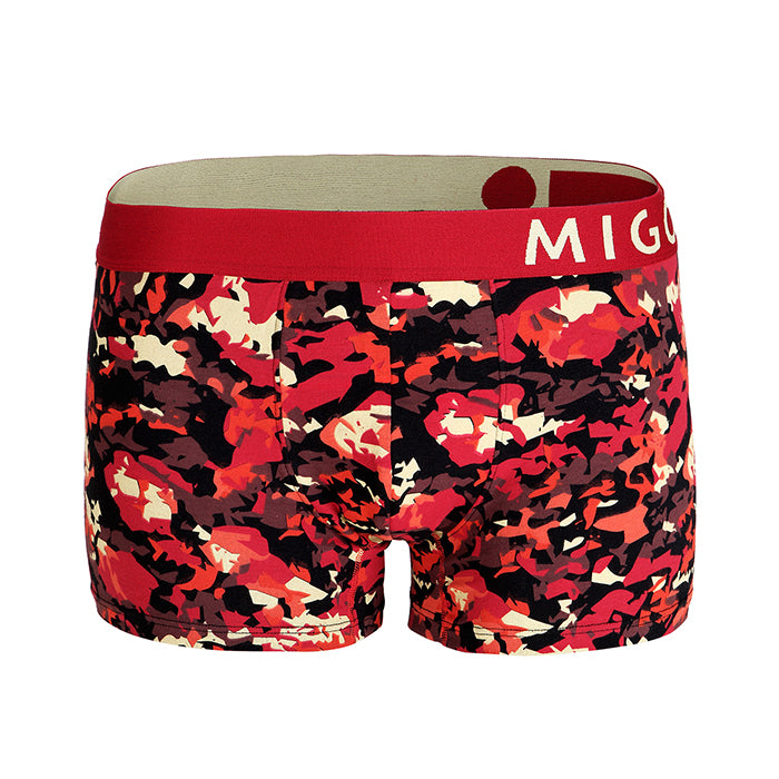 Cotton Pattern Trunk (Vangogh Red) - MIGO