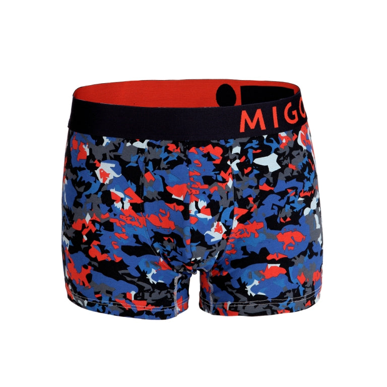 Cotton Pattern Trunk (Vangogh Blue) - MIGO