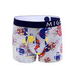 Cotton Pattern Trunk (Fireworks Grey) - [MIGO Menswear]