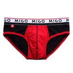 Cotton Two-tone Brief (3 In 1 Pack) - Pk.3 - [MIGO Menswear]