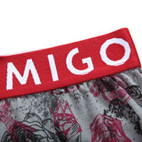 Cotton Loose Fit Pattern Boxer (Horror Grey) - [MIGO Menswear]