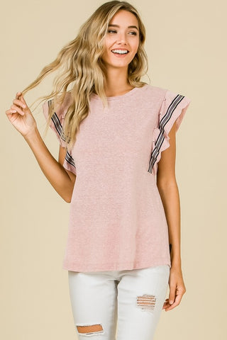 The Willow Top - Blush