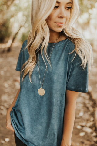 The Jane Top - Indigo Blue