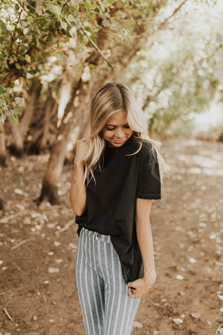The Jane Top - Black