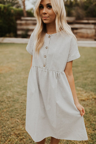 The Willa Dress - Grey