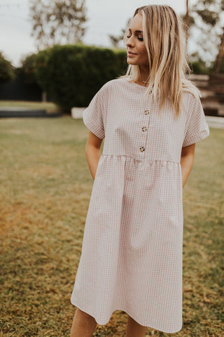 The Willa Dress - Pink