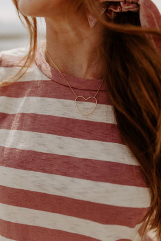 Heart Cut Out Necklace