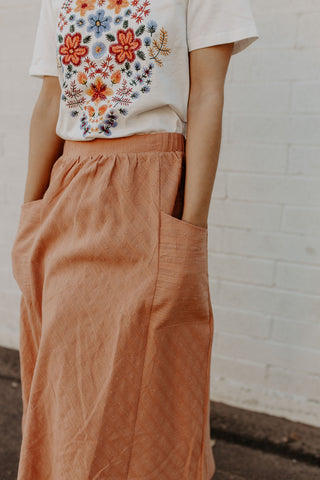 Peachy Skirt