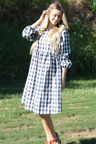 The Checkered Dress