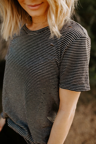 The Tatum Tee - Black