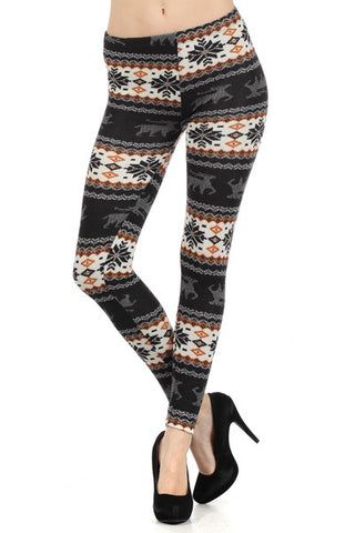 Winter Deer Leggins