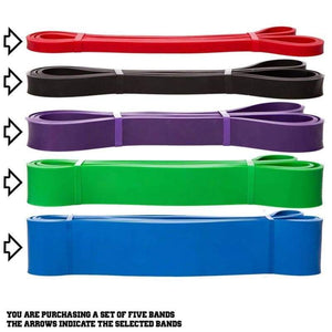 Heavy Duty Resistance Band Set - Gabella