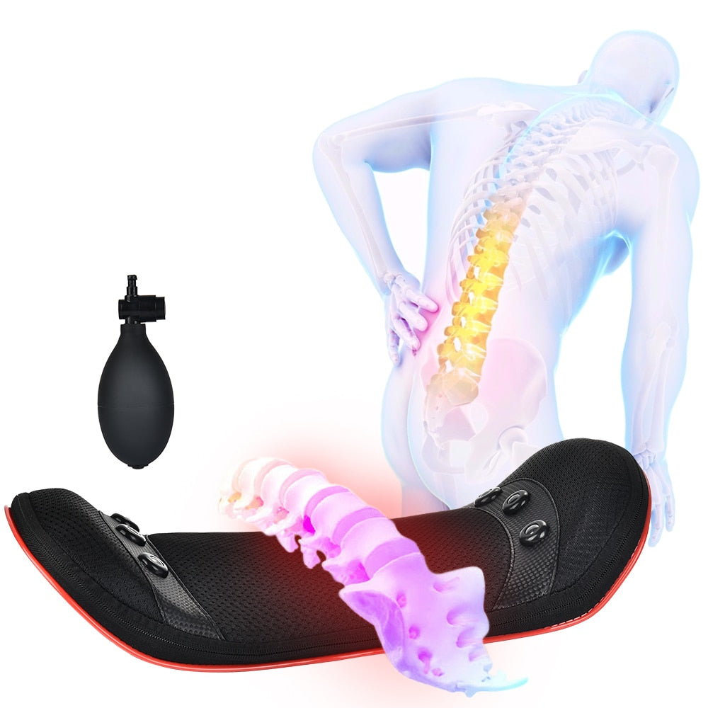 Electric Lumbar Traction Massager for back pain