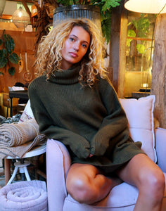 Sweater Dress Groen