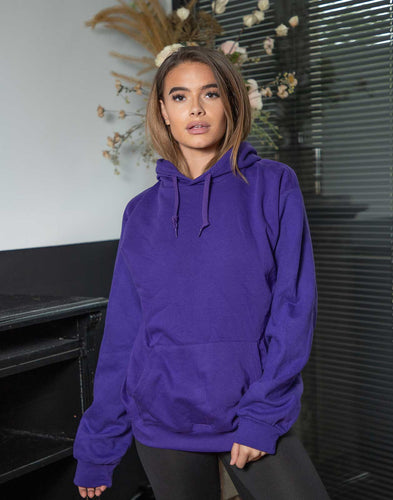 Oversized Hoodie Paars - Comfysets