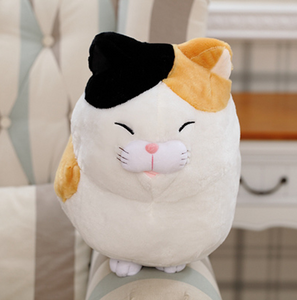 Cat plush toy doll