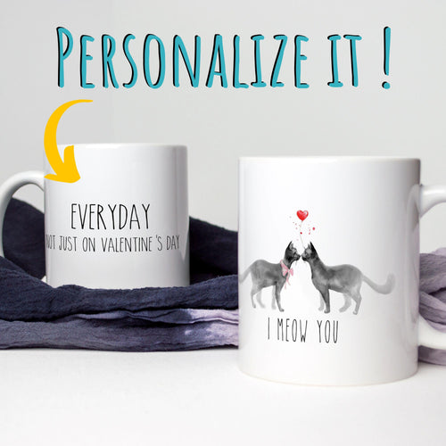 I Meow You - Personalized Mug