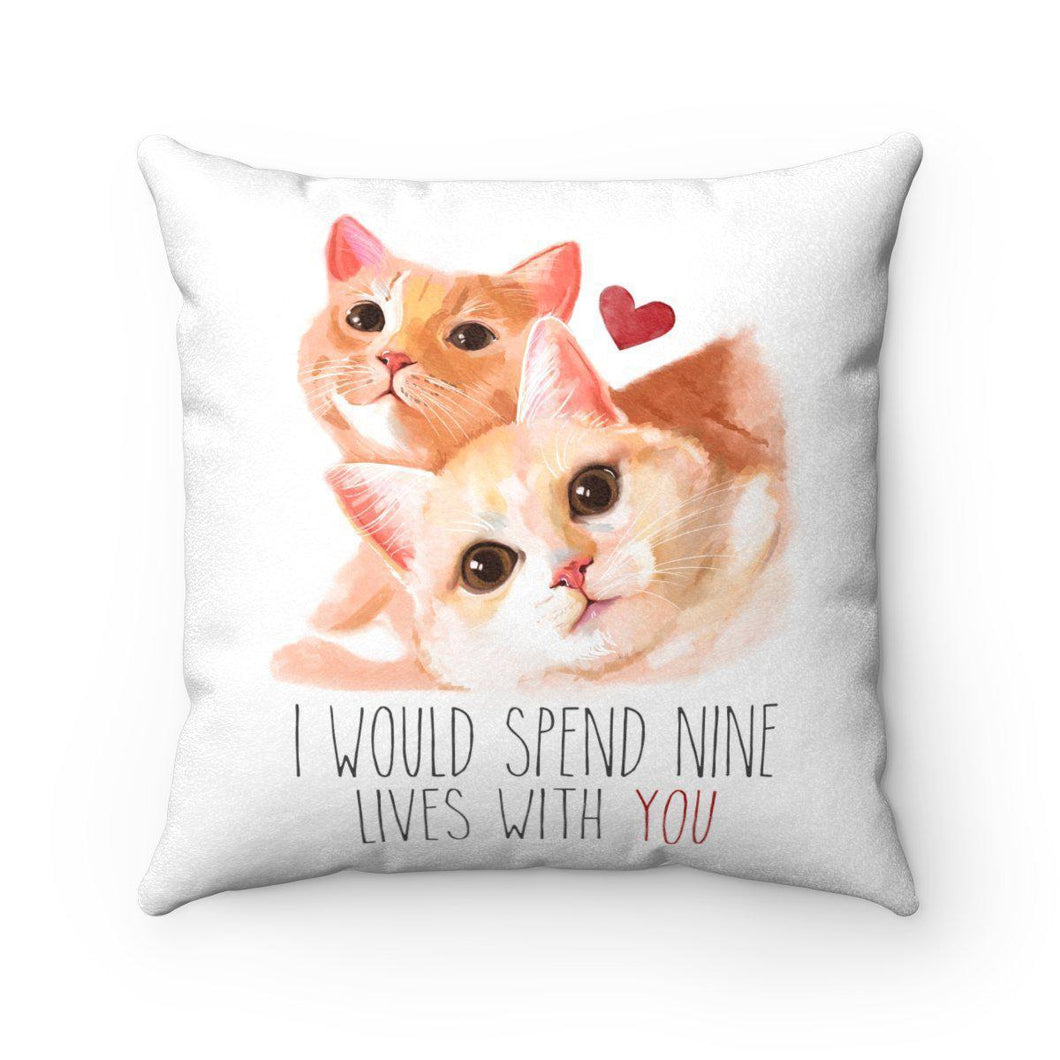 Nine Lives of Love - Pillow