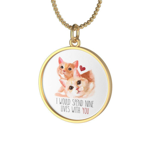 Nine Lives of Love - Necklace