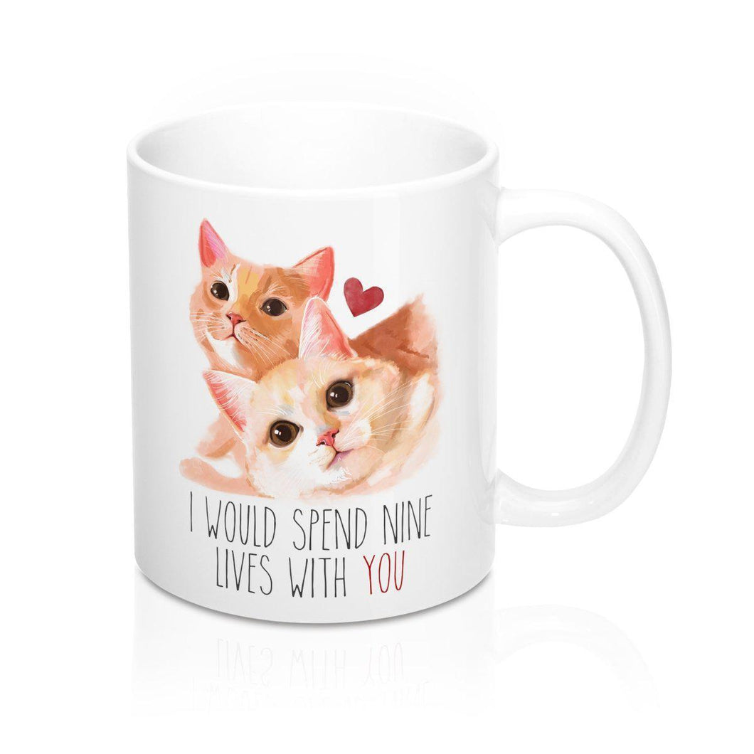 Nine Lives of Love - Mug