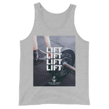 Load image into Gallery viewer, Sink Or Swim Clothing Co. LIFT Unisex Tank Top