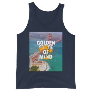 Sink Or Swim Clothing Co. Golden State Of Mind Bay View Unisex Tank Top