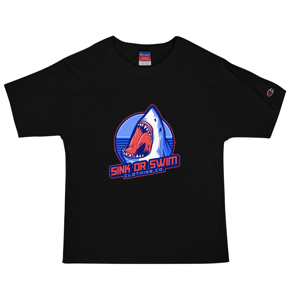Jaw's Sink Or Swim Clothing Co. X Champion T-Shirt