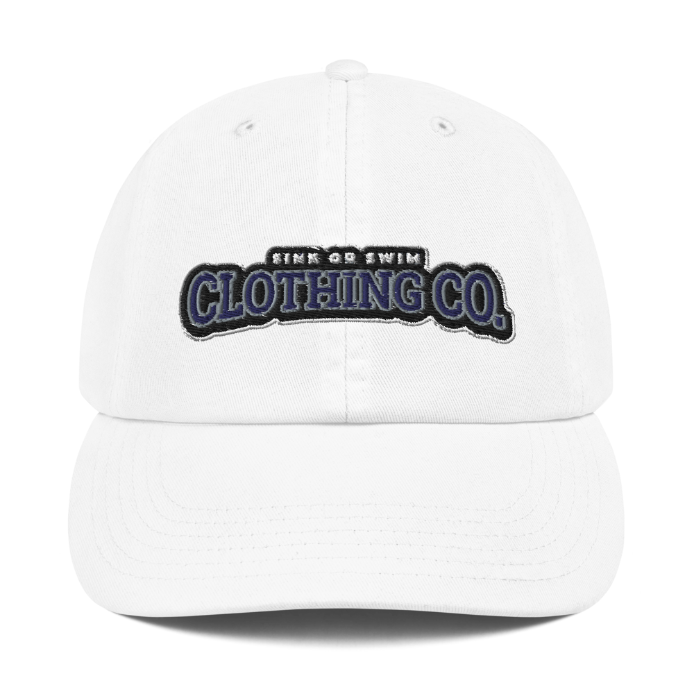Sink Or Swim Clothing Co. X Champion Dad Cap