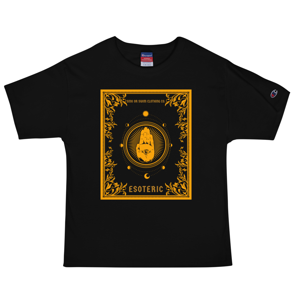 Esoteric Eye See You Sink Or Swim Clothing Co. X Champion T-Shirt