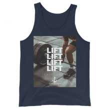 Load image into Gallery viewer, Sink Or Swim Clothing Co. Lift Lift Lift Unisex Tank Top