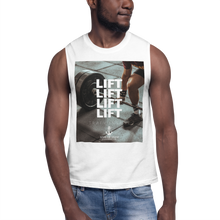 Load image into Gallery viewer, Sink Or Swim Clothing Co. Lift Lift Lift Muscle Shirt