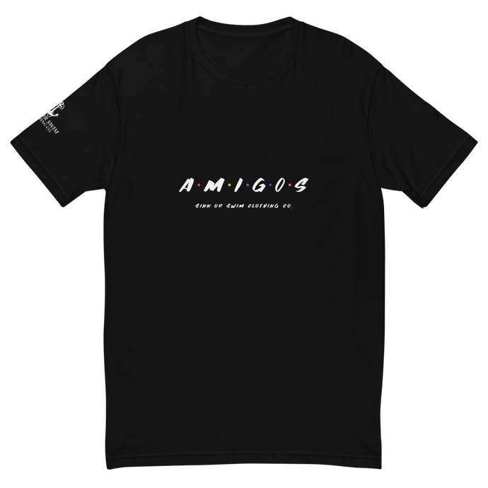 Amigos Sink Or Swim Clothing Co. Fitted Short Sleeve T-shirt