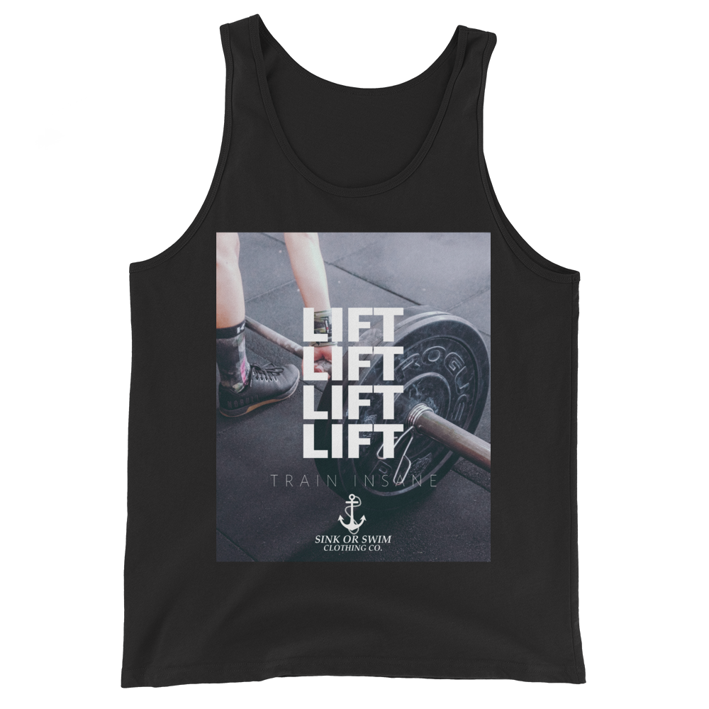 Sink Or Swim Clothing Co. LIFT Unisex Tank Top